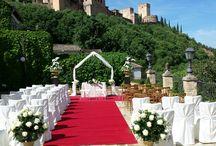 Bodas en Granada / Algunos de los principales trabajos realizados por Floristería Paquita