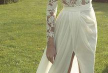 Bröllopsklänning inspo