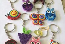 quill key chains