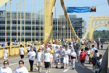 Highmark Walk for a Healthy Community / Pittsburgh Mercy Health System teams raise money during this event that benefits our programs.