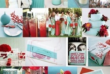 Wedding - red and Tiffany  / by Sophie Reay