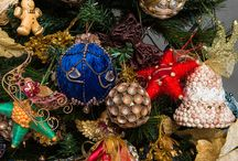 Ozdoby Choinkowe, dekoracje świąteczne. Christmas tree decorating ideas. / Christmas tree decorating ideas. Ozdoby choinkowe robione ręcznie. https://www.facebook.com/pages/Ozdoby-choinkowe-Ewelina-Hockuba/432820303453933