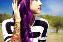 Hair I love  / Purple hair pretty