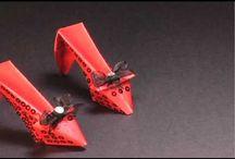 Origami kläder +