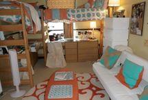 Beth dorm ideas / by Ann Bucy