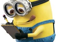 Minion madness / I love MINIONS!!! BANANA!! They should make a third one!!! Like seriously!! / by ~Britney~
