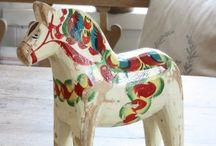 Dala horse Sweden