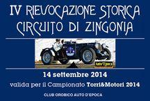 IV Rievocazione Storica Circuito di Zingonia / 14-09-2014 c/o Crespi d'Adda (BG)