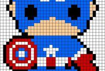 cross stitch / knitting art