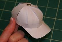 baseball party hats