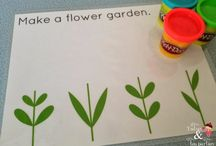 Play dough ideas and printables