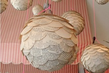 Volunteer's Projects / Paper crafts, with recycled books, and anything else whimsical and fun. Reduce, reuse and recycle!