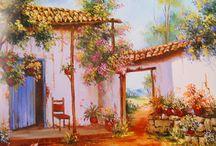 pinturas de campo