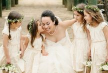 Flower Girls / Flower Girls, Flower Girls with Flower Crowns, Everything Adorable!  / by Aisle Perfect - Wedding Blog