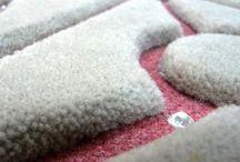 #Hand-tuft #Dines-France / Les plus beaux tapis hand-tuft de Dines. A retrouver sur www.dines-france.com