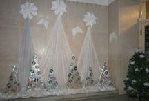 vánoční výzdoba škola