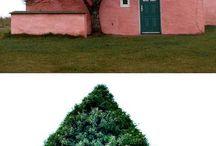 kert és épület