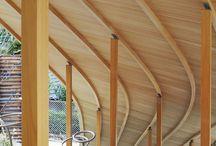 Estructuras de madera. Cáscaras y superficies curvas