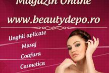Peter's Beauty Shop / Produse cosmetice profesionale la cele mai bune preţuri din Romania vă pune la dispozoţie cele mai bune produse profesionale pentru: unghii aplicate, manichiură, pedichiură, coafură, cosmetică şi masaj. www.beautydepo.ro vă garantează că toate produsele noastre sunt profesionale şi au o calitate excepţională. Categorii produse: Perfect Nails, Peter's Natural Spa, Cosmedic Petra, Yamuna, Eveline cosmetics, Fama cosmetics, Lady Stella, Soliteint, Tab. Mai multe informaţii: www.beautydepo.ro
