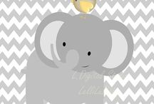 Printable nursery decorations
