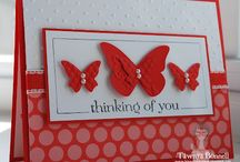 Butterflies- Stampin' Up! / Butterfly inspired creations using stampin' Up! Gorgeous products