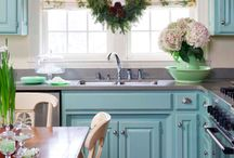 Home - Kitchen Ideas / by Sara Sheets