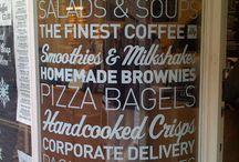 signage + restaurant ideas