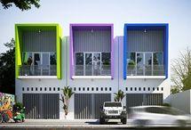 color full facade