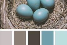 Blue Brown Grey Palette