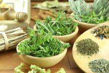 Fresh herbs and oils