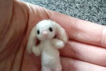 walnut shell baby bunny crib shabby chic style / walnut shell bunny miniature rabbit cute shabby chic style