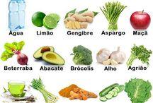 10 alimentos para uma dieta detox de sucesso!