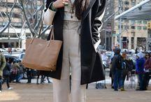 NYFW AW14 STREET STYLE / #NYFW #fashion #streetstyle #style #AW14 / by FacesOfNYFW .com