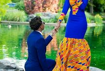 Bridesdress and African Dress