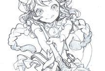 Kawaii drawing