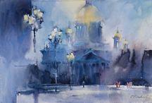 Viktoria Prischedko / Watercolour