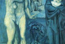 Picasso - période bleue