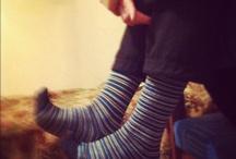 lookatmysocks / blue, red, strange, weird, different socks