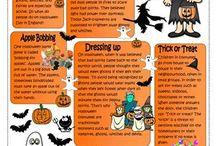 Halloween 7th grade
