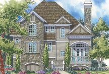 Mountain House Plans - The Sater Design Collection / These Sater Design Collection Mountain Home Plans are picture perfect for getaway retreats where your family can enjoy the beautiful surroundings in style and comfort. Each house plan has been designed with superb indoor-outdoor relationships and many feature full-width and wraparound porches to take advantage of wide, open vistas and inspiring lake, valley and mountain views. We have home plans both large and small.