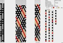 10-11 korálkové vzory