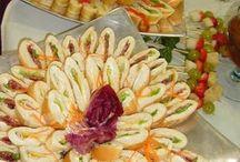 mini sándwiches