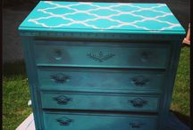 Redone furniture! / by Masey Morris