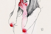Naked contemporary illustrators