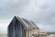 Beach house designs / Houses