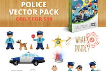 Police Vector Pack