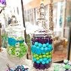 Peacock | Purple | Teal | Lime Green WEDDING CANDY BUFFET / Wedding Candy Buffet for a bride that got married on 5.18.12 with a wonderfully colorful design.