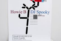 The Electric Tree / Howie B / DJ Spooky (THE electriC Tree) artwork and poster design for Pitti Immagine :MMV