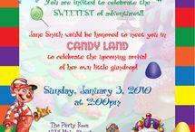 Candy land baby shower