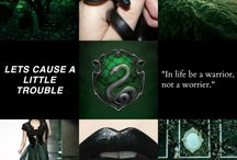 • Just Slytherin things •